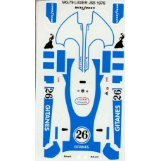 Decals Ligier Js5 Ref Dkmg79 By Mg Model Buy It On Jfpkits