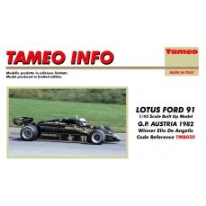 Lotus Ford 91