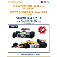 Williams Honda FW11B